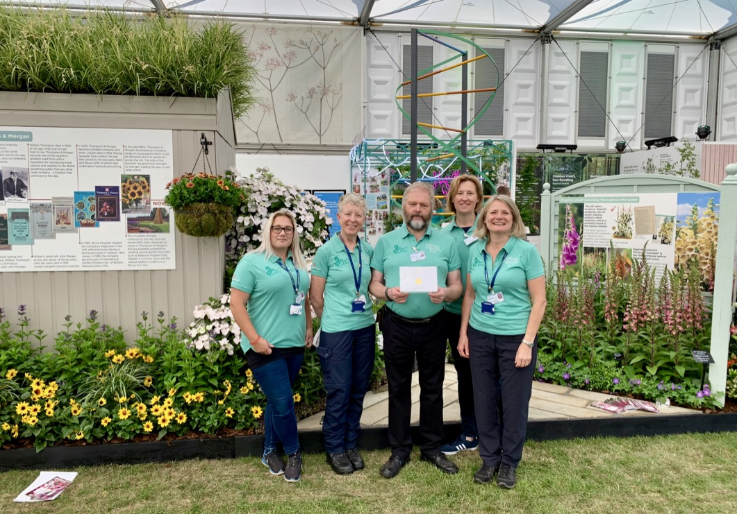 The Sparsholt College team win gold at RHS Chelsea Flower Show 2019